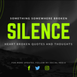 broken heart silence quotes